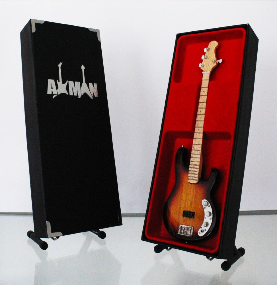 (AC/DC) Cliff Williams: Precision Bass - Miniature Guitar Replica (UK Seller)